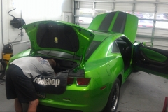 2011 Chevy Camaro - full system installation with trunk lighting