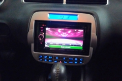 2011 Chevy Camaro - Kenwood Excelon custom dash with navigation head unit