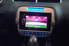 2011 Chevy Camaro - Kenwood Excelon custom dash with navigation head unit