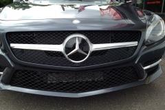 2012 Mercedes SLK - Radar & Laser Shifter Install - Laser Shifter Installed Behind Grille