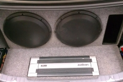 3 Series BMW - car audio installation.