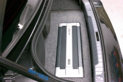 3 Series BMW - car audio installation. Audison Amplifier