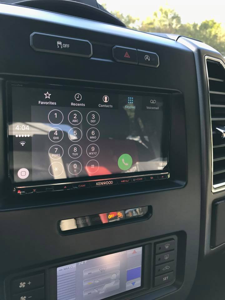 Auto Styles Clearwater 2015 Ford F 150 Kenwood Excelon Apple