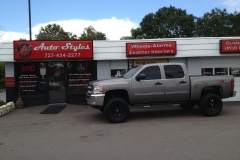 2012 Chevrolet Silverado - window tint & nerf bar installation