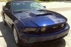 2012 Mustang hood scoop