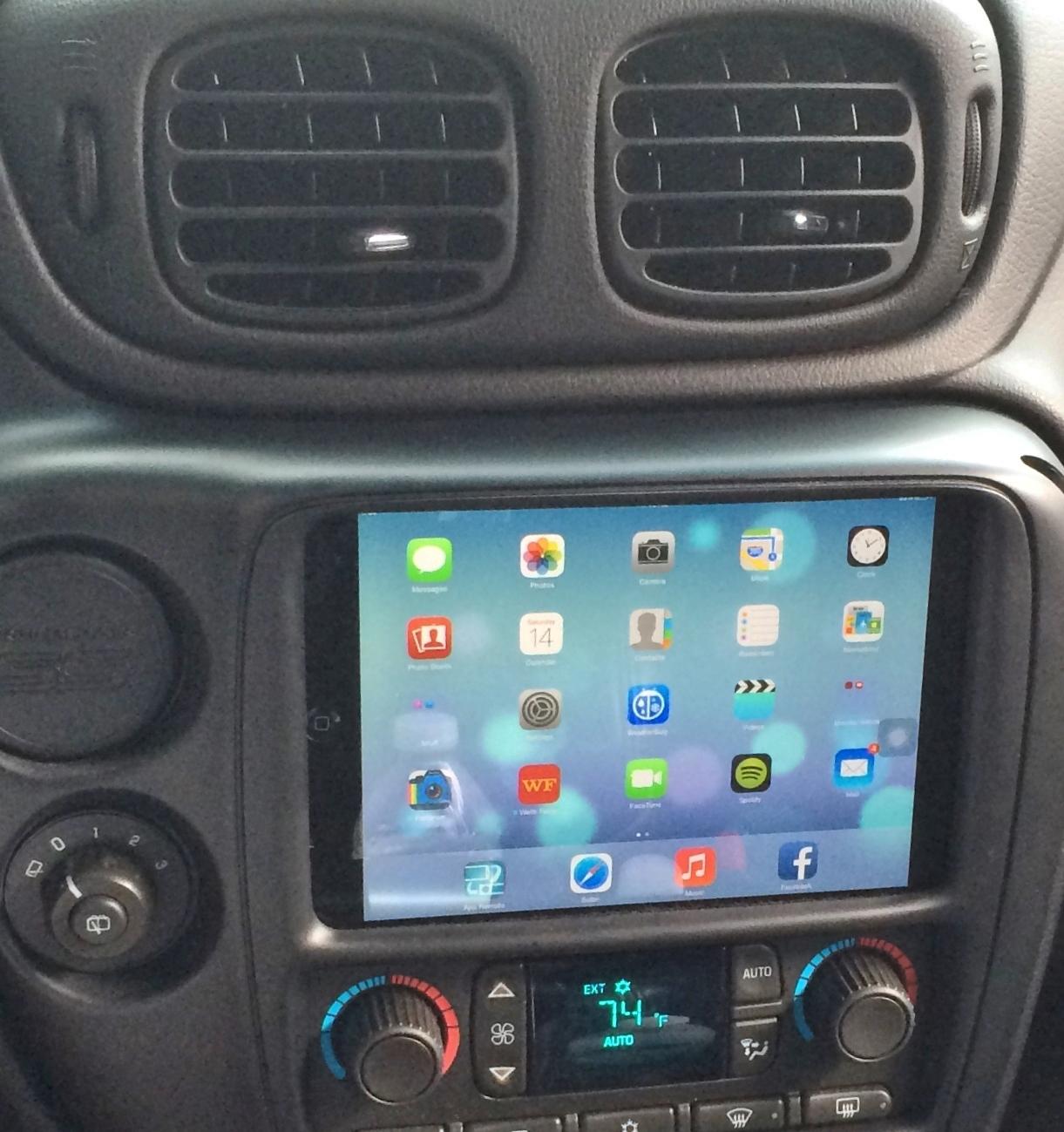 Daytona Auto Mall >> TrailBlazer - iPad mini installed in dash Archives - Auto ...