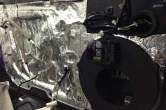 Infiniti G37 - passenger door sound dampening