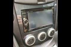 2009 Nissan 370z bezel with hydrographics - completed