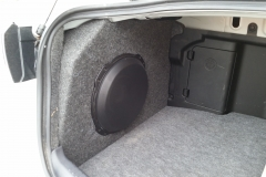Mitsubishi Lancer EVO - w/custom enclosure