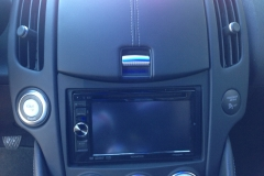 2009 Nissan 370z - before in dash iPad installation