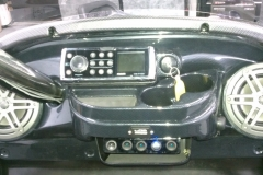 ATV stereo system - Fusion Marine stereo installed with a pair of JL Audio MX 6.5'' speakers
