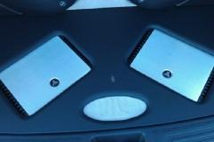 Hyundai Tucson amps & suede logo
