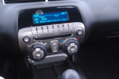 2011 Camaro - factory head unit before Kenwood navigation system is installed