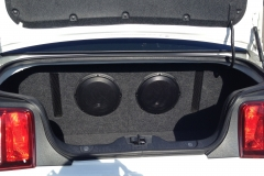 2012 Mustang GT - with ported sub enclosure