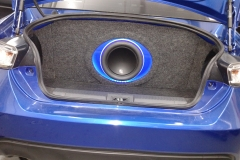 2015 BRZ - 10W-7 in ported enclosure in the trunk