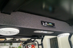 John Deere Gator - overhead console loaded and installed