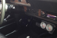 1972 Oldsmobile Cutlass Kenwood Excelon radio and front speakers installed
