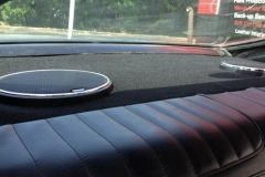 1972 Oldsmobile Cutlass - Kenwood Excelon rear deck lid after speaker installation