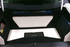 Cadillac - Rockford Fosgate amp installation in trunk