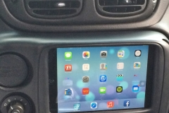 2009 Chevy Trailblazer SS - iPad Mini installed into dash