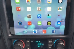2009 Chevy Trailblazer SS - iPad Mini installed into the dash
