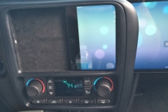 2009 Chevy Trailblazer SS - iPad Mini sliding into dash