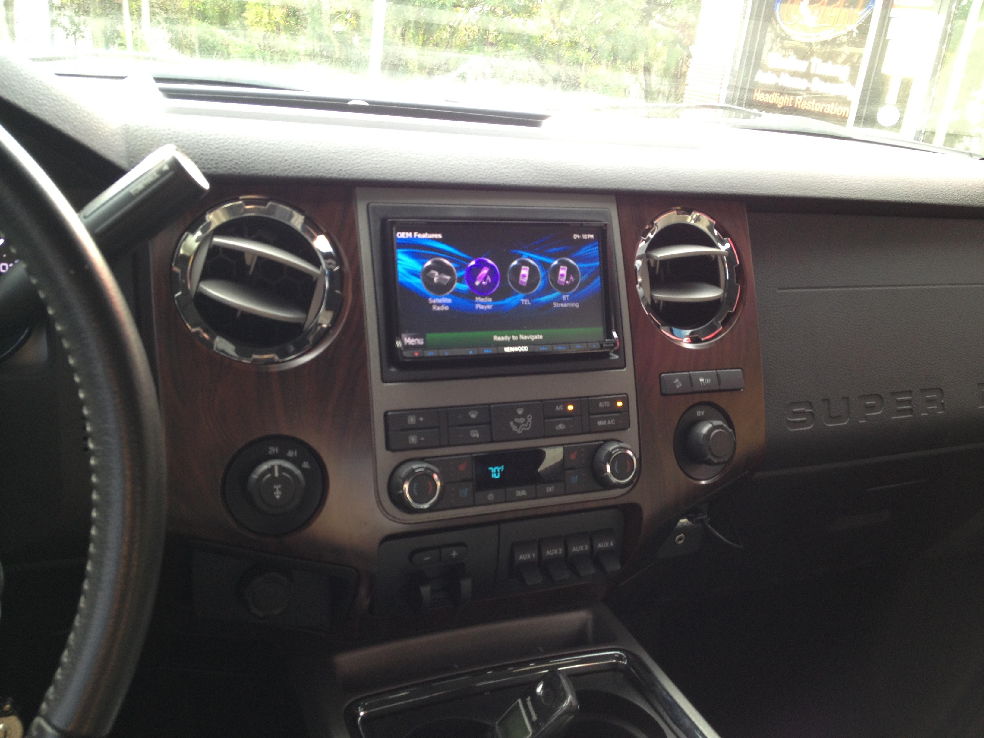 Daytona Auto Mall >> Ford Super Duty - Navigation Install - Auto Styles