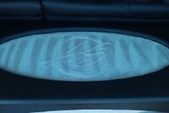 Hyundai Tucson logo plate