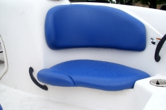 Jet Boat seat reupholstery