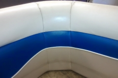 Marine seat back repair - after
