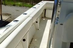 37 foot Donzi rub rail - after