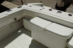 37 foot Donzi reupholstery