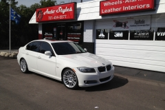 2012 BMW 3 Series - clear paint protection