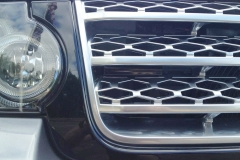 2012 Range Rover Custom Radar Installation - Laser Jamming Sensor Installed in front Grille