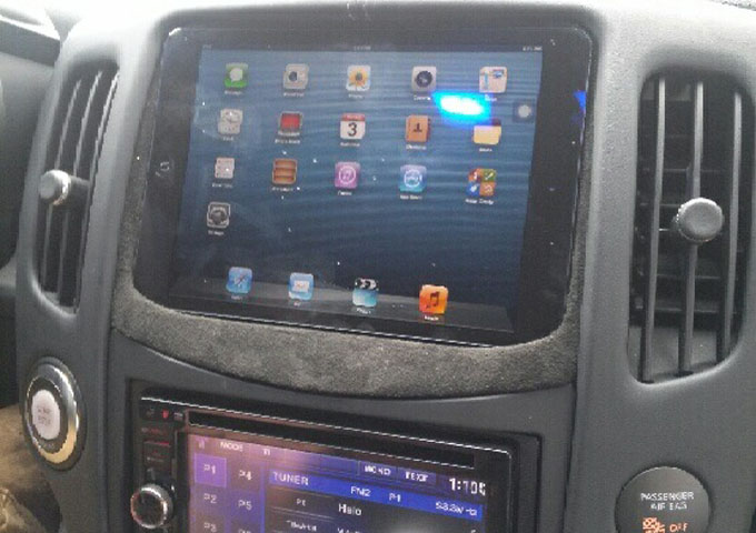 Nissan 370z In Dash Ipad Mini Installed Archives Auto Styles