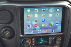 Chevy Trailblazer SS - iPad Mini installation