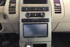 Ford Flex navigation system - installed
