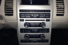 Ford Flex navigation system - before