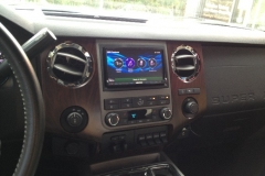 Ford Super Duty - navigation system installed