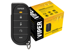 Viper Value 1-Way Security + Remote Start System: Protect your vehicle from thieves and vandals, and start your engine with the push of a button from up to 2,000 feet away. This system features one slender and elegant 5 button SuperCode remote control. Based on the Best of Innovations Award-winning 2-Way Responder LE Security and Remote Start System, this is the value-priced 1-Way version.