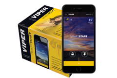 Viper SmartStart Remote Start Security System: Remote start, lock and unlock your car by pushing a button on your smartphone.