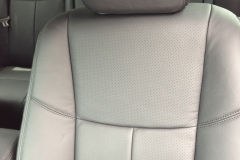 2013 Nissan Altima - perforated leather front seat