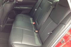 2013 Nissan Altima - perforated leather back seat