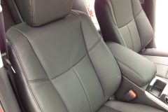 2013 Nissan Altima - Katzkin perforated leather interior