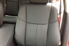 2013 Nissan Altima - Katzkin leather close-up