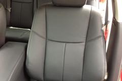 2013 Nissan Altima - Katzkin leather close-up