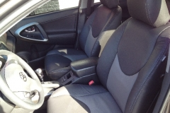 2011 Toyota RAV4 two toned leather front seat