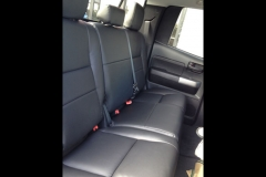 2012 Toyota Tundra - Katzkin leather back seat