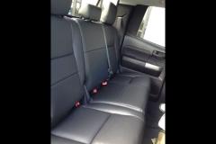 2012 Toyota Tundra - Katzkin leather back seat