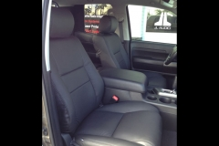 2012 Toyota Tundra - leather front seats